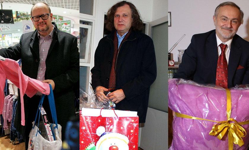 Prezydenci Gdańska, Gdyni i Sopotu wzięli udział w Świątecznej Akcji Faktu
