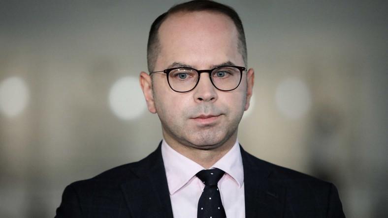 Poseł PO Michał Szczerba