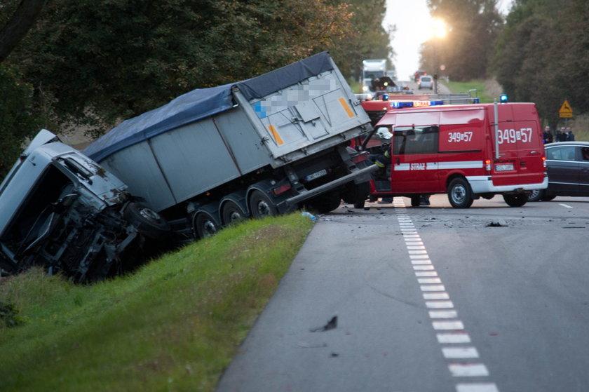 Wypadek na krajowej 6, Stara Dąbrowa