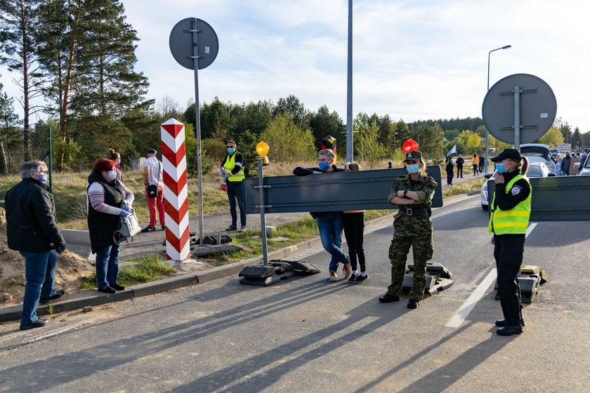 Protest w Lubieszynie