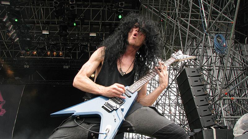 Trey Azagthoth z Morbid Angel (fot. oficjalna strona zespołu)
