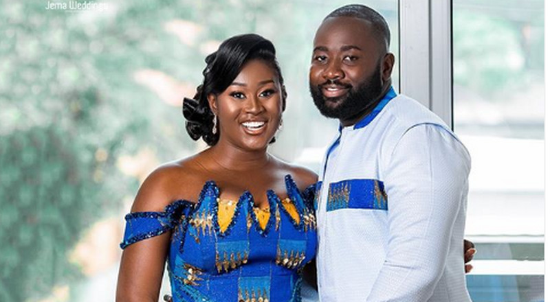 2014 Miss Malaika delegate, Anita Osei ties the knot in a beautiful ceremony
