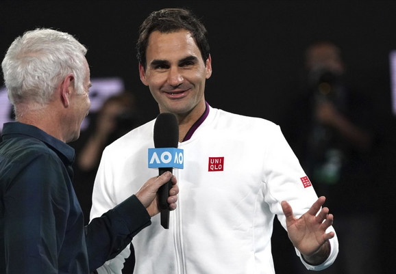 Džon Mekinro i Rodžer Federer