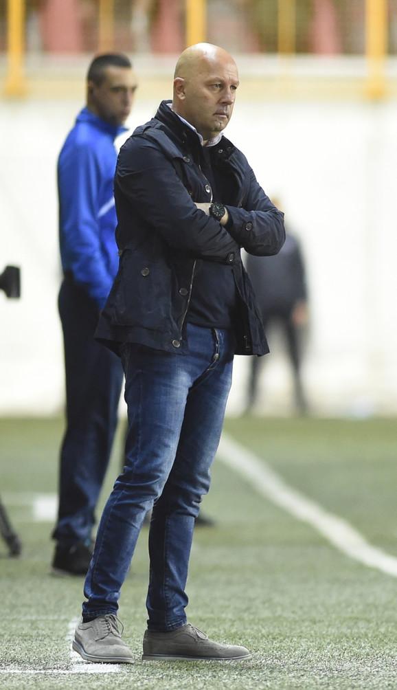Trener Voždovca Dragan Aničić