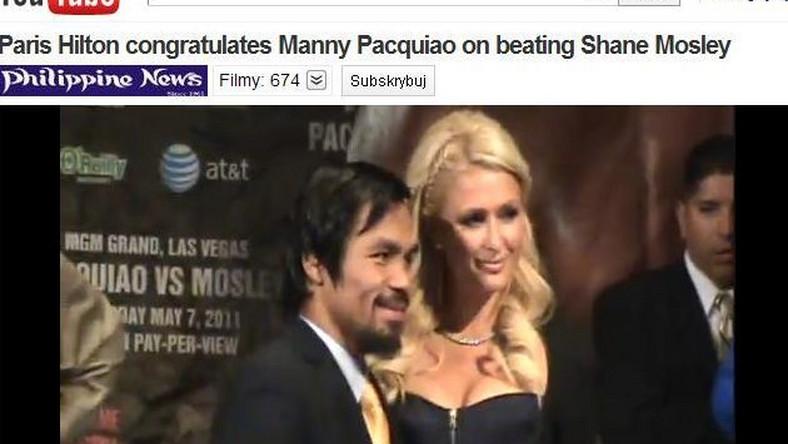Manny Pacquiao i Paris Hilton