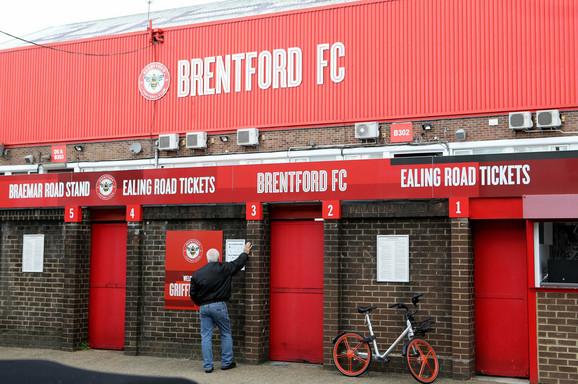 Blagajna stadiona Brentforda
