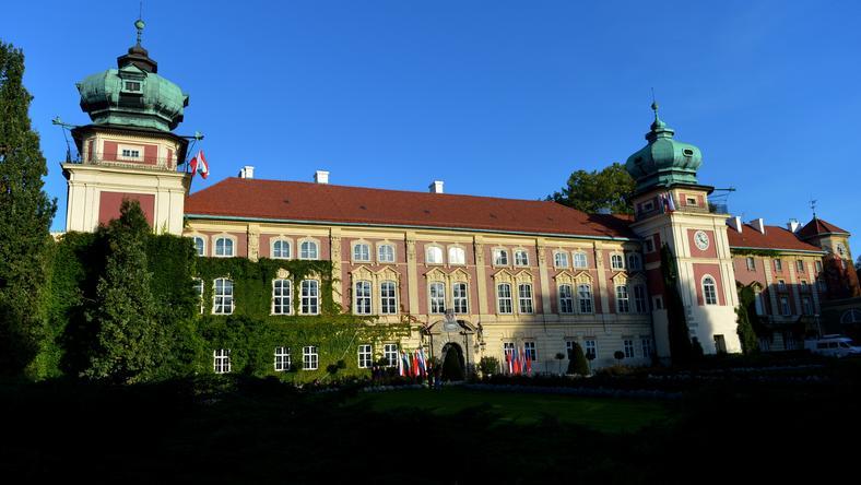 Muzeum - zamek w Łańcucie