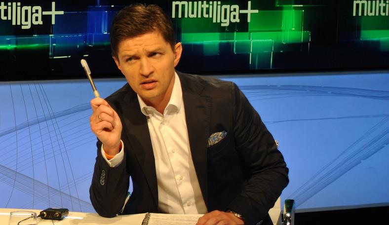 Tomasz Smokowski w trakcie programu multiliga +