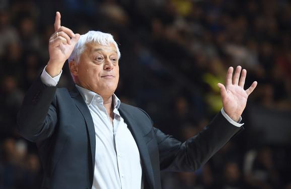 Trener Dinamika Miroslav Muta Nikolić