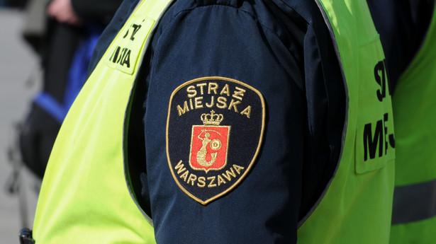 Strażnik miejski w Warszawie