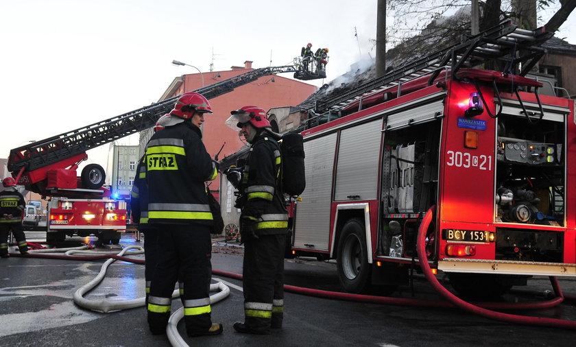 Tragedia w Olsztynie. Troje ludzi zginęło w pożarze