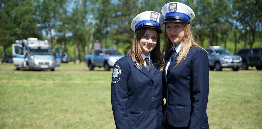 Niezwykłe nastolatki z Malborka chcą być policjantkami