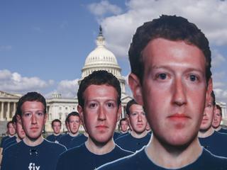 Facebook CEO Mark Zuckerberg Testifies Before US Senate
