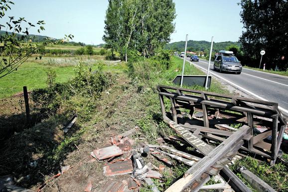Županjać saobračajna nesreća, Ibarska magistrala