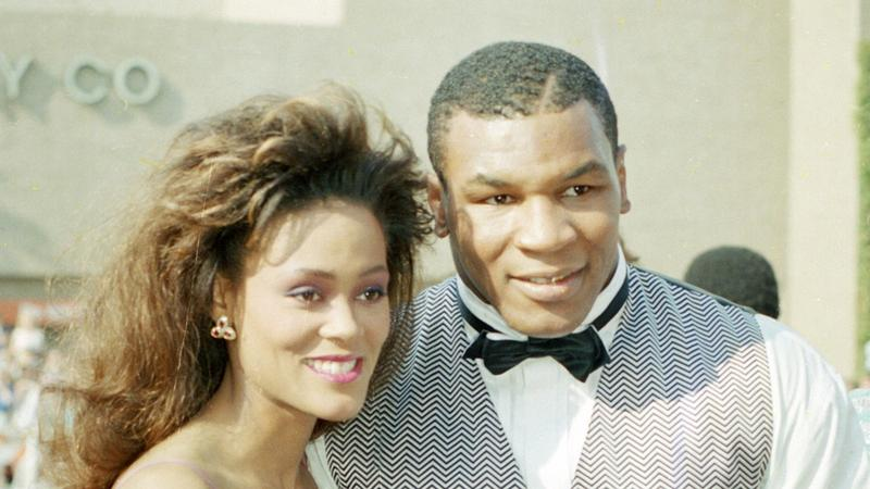 Mike Tyson i Robin Givens