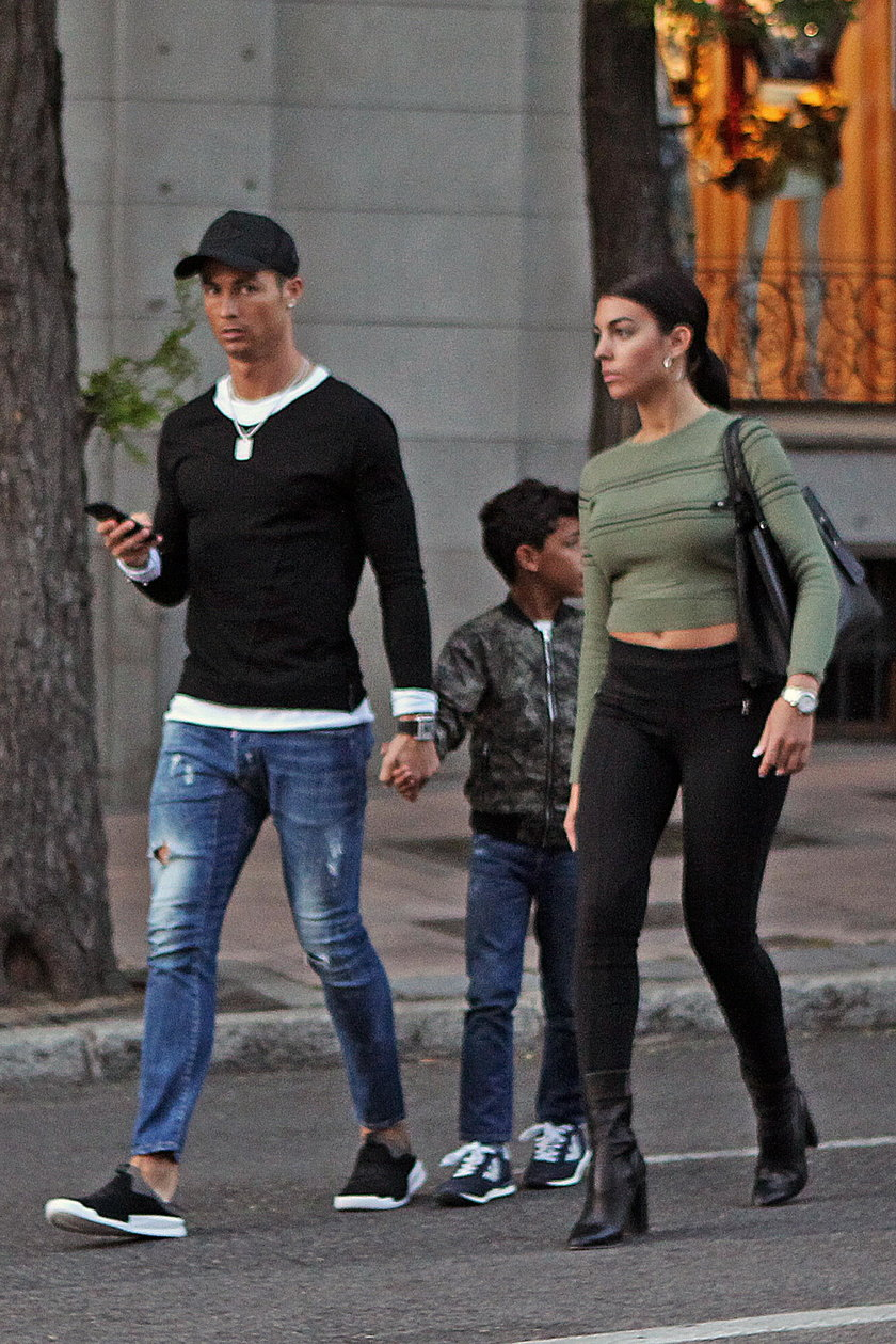 Ronaldo nie mógł oderwać od niej wzroku