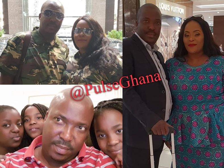 Elikem's new lover with her alleged family