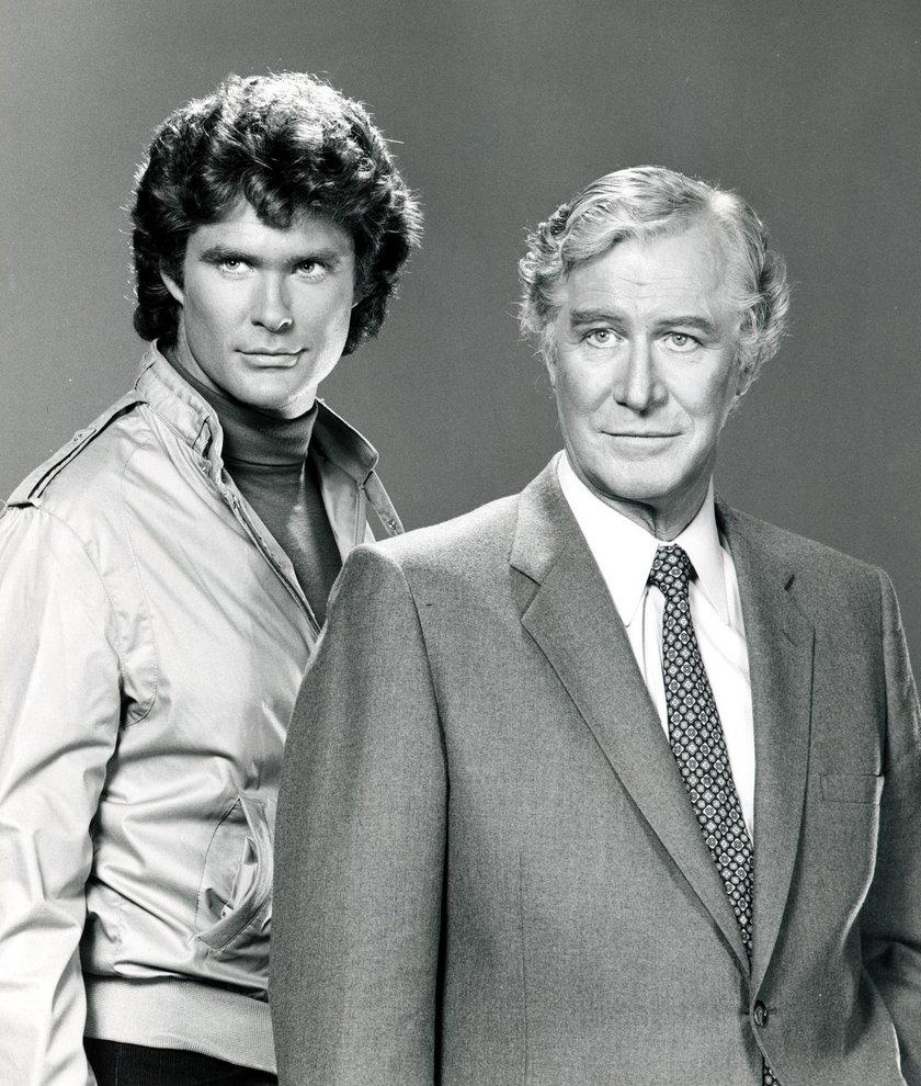 David Hasselhoff i Edward Mulhare