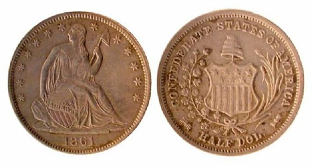 Konfederacijski novčić od 50 centi