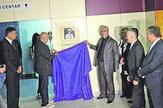 Kraljevo 01 - Glavčićeva slika ispred dijagnostičkog centra - Foto Nenad Bozovic