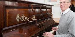 Znalazł skarb w pianinie