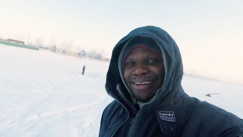 Mark Babatunde is the only African in Yakutia, the coldest place on Earth (nationalhelm)