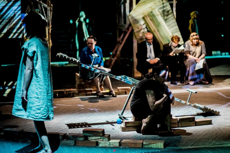 """""""Matki"""" - Teatr Żydowski, fot. Krzysztof Bieliński"""