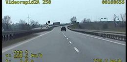Pirat drogowy na obwodnicy Inowrocławia. Zobacz nagranie