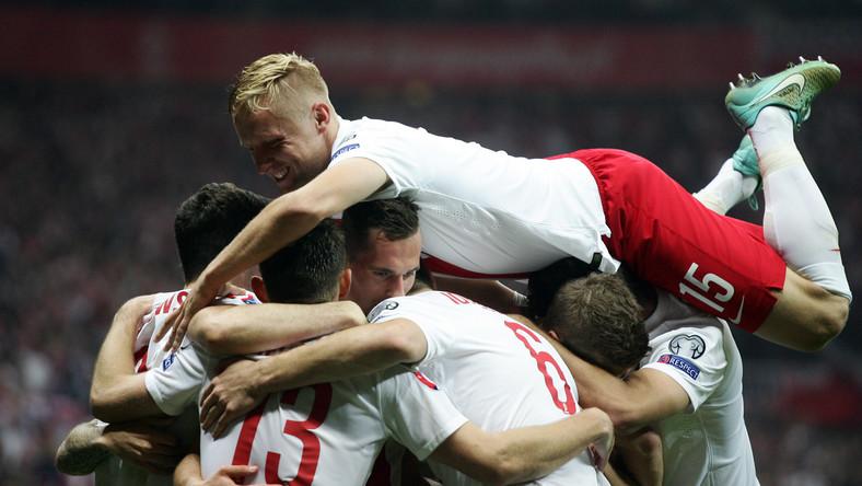 Radość polskich piłkarzy
