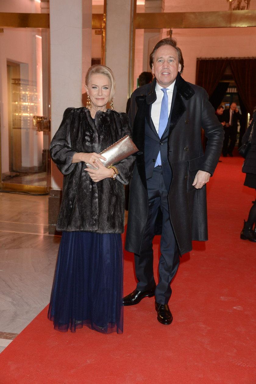 Dorota Soszyńska z mężem