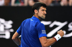NIMALO OBIČAN UVODNI MEČ Novak uz bravure ali i strepnju prošao u drugo kolo Australijan opena