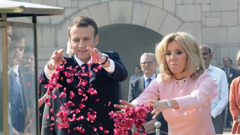 Para prezydencka Francji przebywa obecnie z wizytą w Indiach...