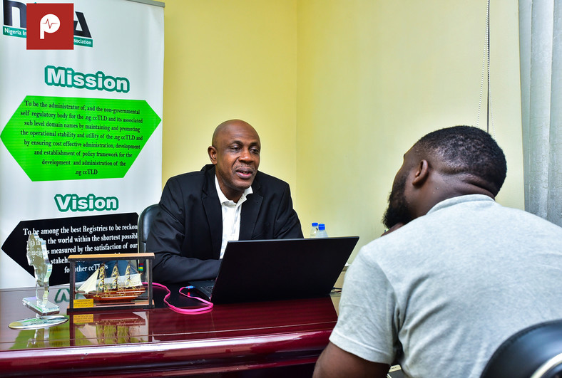 Reverend Sunday Folayan tells Pulse about the hierarchy of the internet. (Pulse Nigeria)