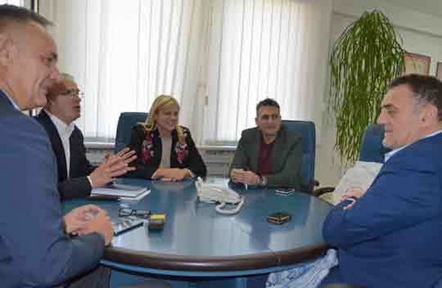 Ana Joković i Dušan Projović u poseti Loznici