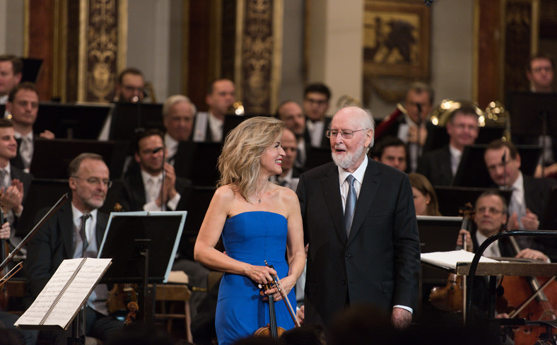 Anne-Sophie Mutter i John Williams