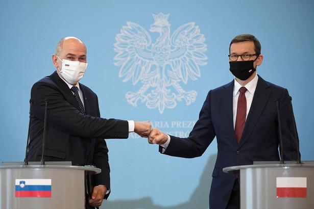 Morawiecki i Jansa