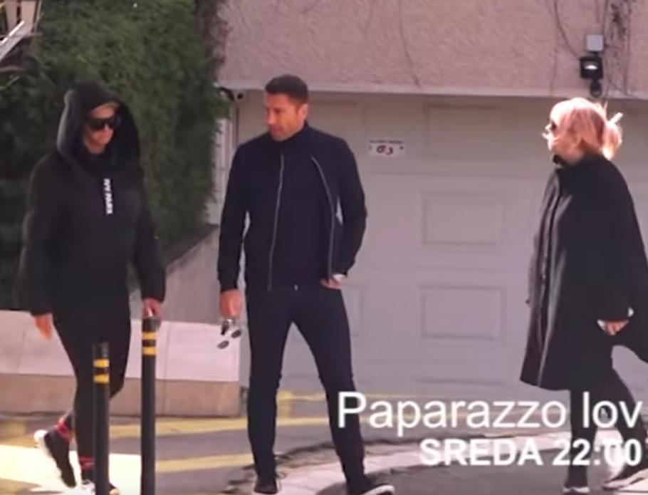 Jelena Karleuša, Duško Tošić i Jelenina tetka Danijela