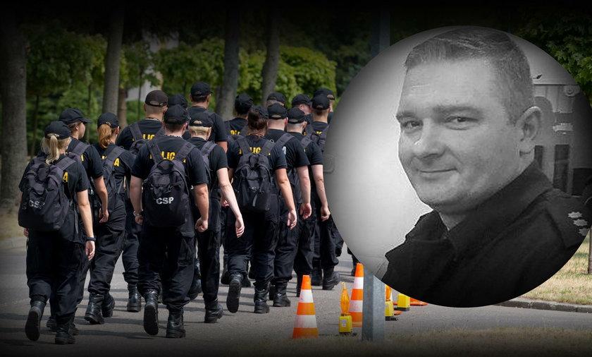 Śmierć policjanta z Legionowa. Dyspozytor pogotowia nie usłyszy zarzutów