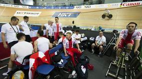MŚ w kolarstwie torowym: drużyna sprinterów tuż za podium