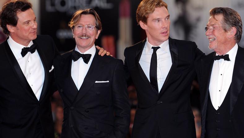 Colin Firth, Gary Oldman, Benedict Cumberbatch i John Hurt w Wenecji