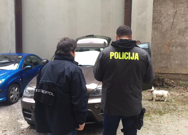 Akcija Europola, slovenačke i hrvatske policije