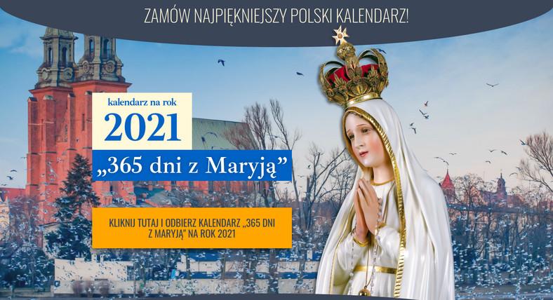Internetowa kampania fundraisingowa Instytutu Piotra Skargi, screen ze strony zamow.kalendarzmaryjny.pl