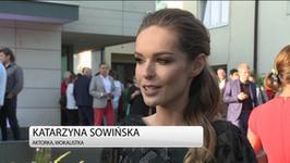 Katarzyna Sowińska: takich samych sukcesów życzę Edycie Górniak