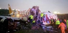 W Stambule rozbił się samolot. Trzy osoby nie żyją, wielu rannych