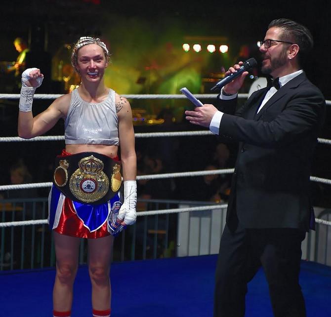 Maja Milenković u ringu