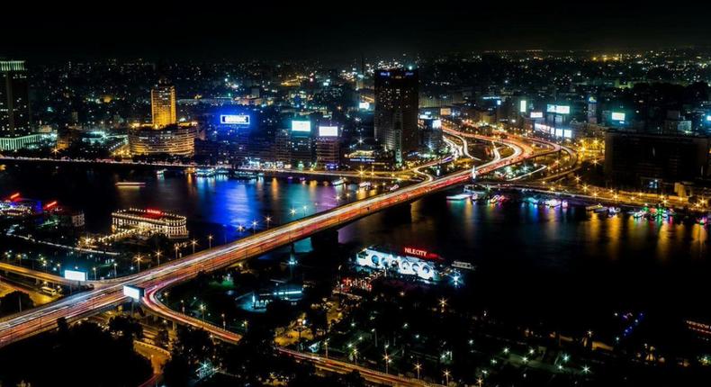 Cairo at night. (@disafrica)