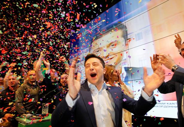 Zełenski. Zwycięstwo w wyborach prezydenckich