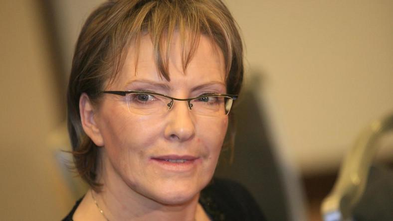 Minister zdrowia Ewa Kopacz uratowała kobietę ranną w wypadku drogowym