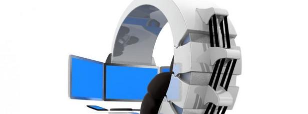 MWE Emperor 200 PC WorkStation Komputer rodem z filmów science-fiction został wyposażony m.in. w dotykowy panel kontrolny oraz trzy 27 calowe monitory LED. Cena: 49 150$