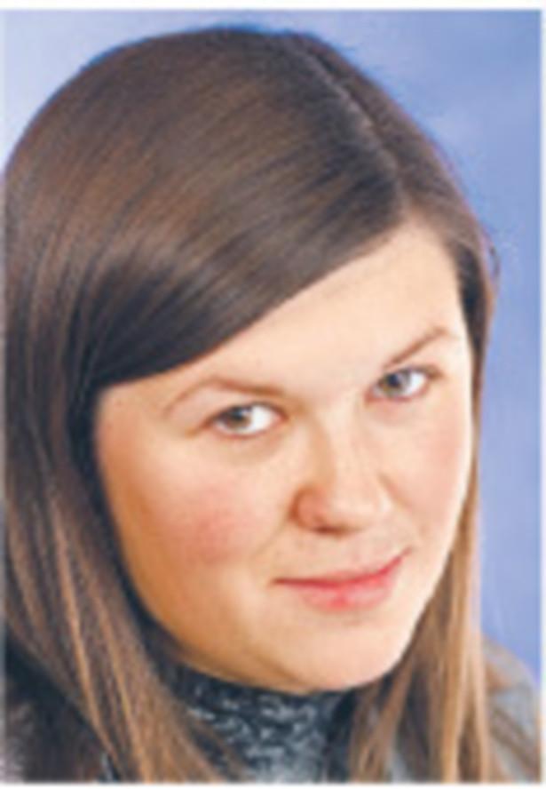 Małgorzata Kryszkiewicz, zastępca kierownika działu prawo gospodarcze